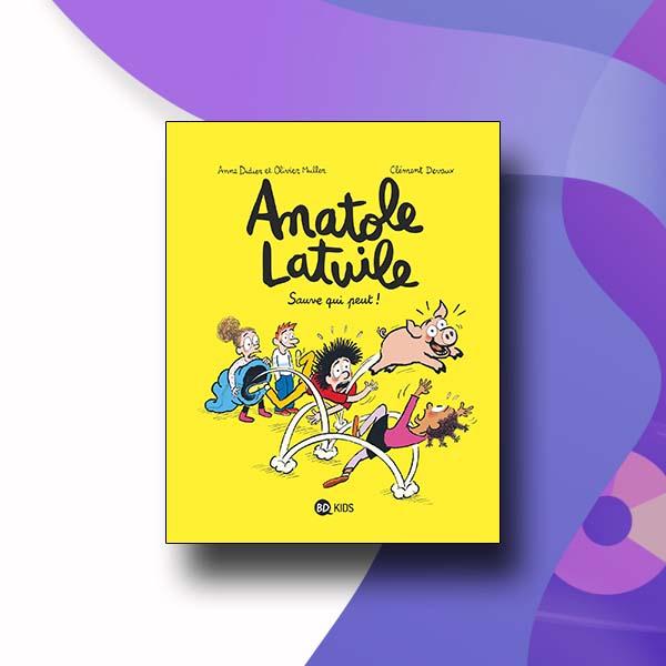دانلود انیمیشن فرانسوی Anatole Latuile