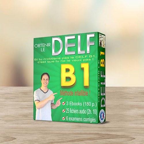 پکیج آموزش امتحان دلف OBTENIR LE DELF B1