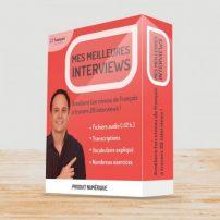پکیج آموزش فرانسوی MES MEILLEURES INTERVIEWS