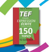 دانلود کتاب آزمون TEF کانادا Expression Ecrite
