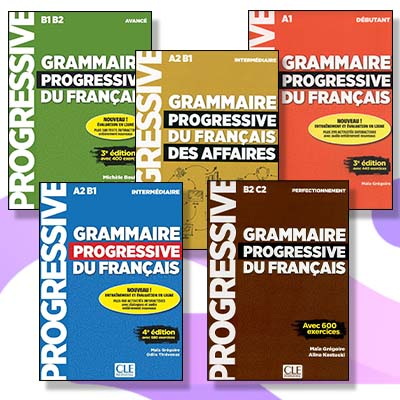 دانلود کتاب Grammaire progressif du français